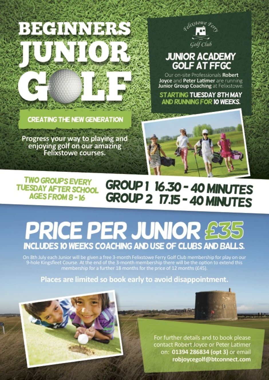 Golf in Ipswich